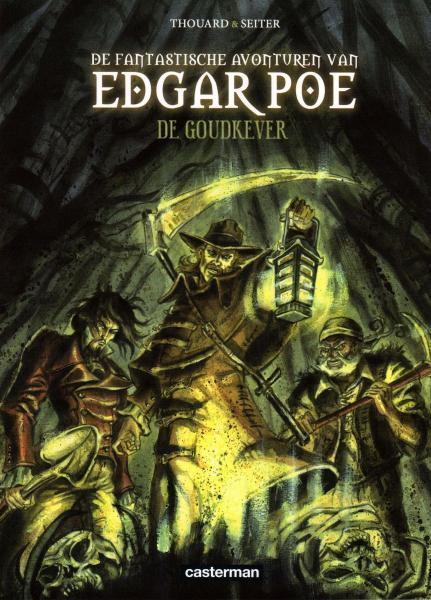 De fantastische avonturen van Edgar Poe 1 De goudkever