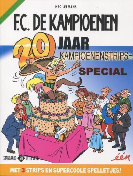 F.C. De Kampioenen INT 27 20 jaar Kampioenenstrips-special