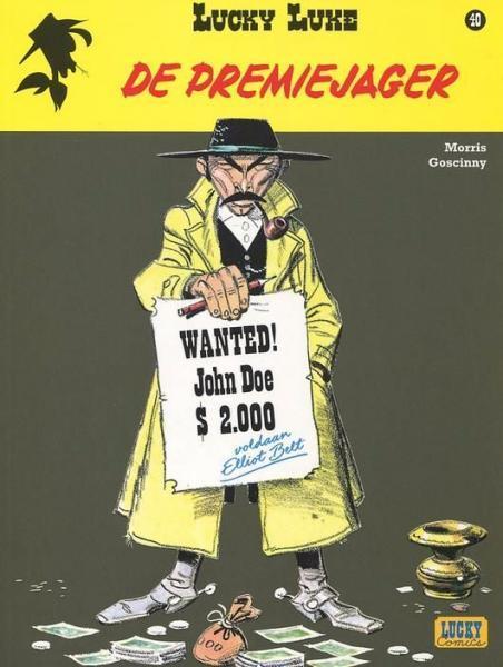 Lucky Luke (Lucky Comics, hernummering) 40 De premiejager