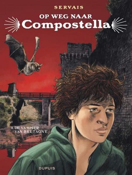 Op weg naar Compostella 4 De vampier van Bretagne