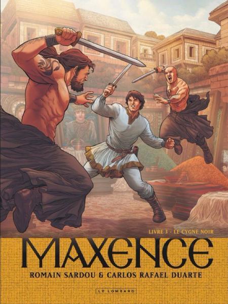 Maxentius 3 Le cygne noir