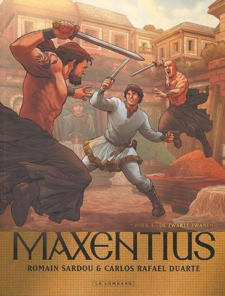 Maxentius 3 De zwarte zwanen