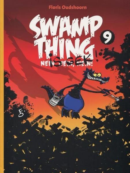 Swamp Thing (Oudshoorn) 9 Swamp Thing is gek!