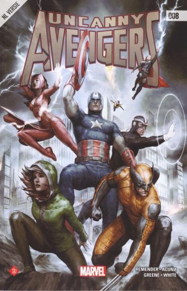 Uncanny Avengers (Standaard) 8 Deel 8