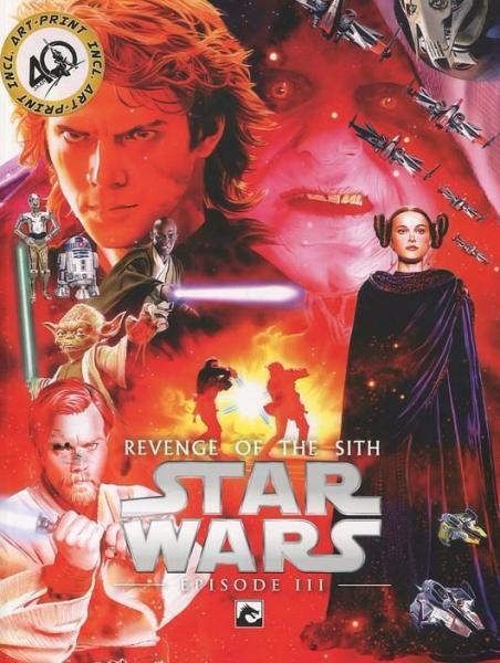 Star Wars Remastered Filmboek 3 Revenge of the Sith