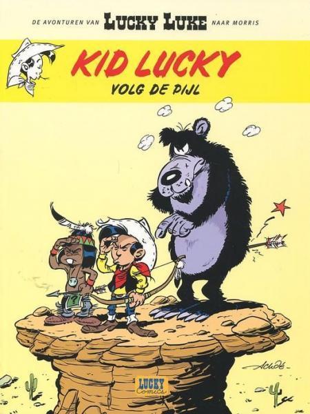 Kid Lucky A4 Volg de pijl