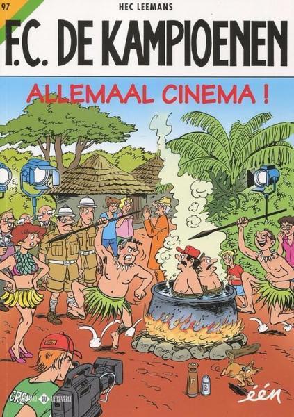 F.C. De Kampioenen 97 Allemaal cinema!