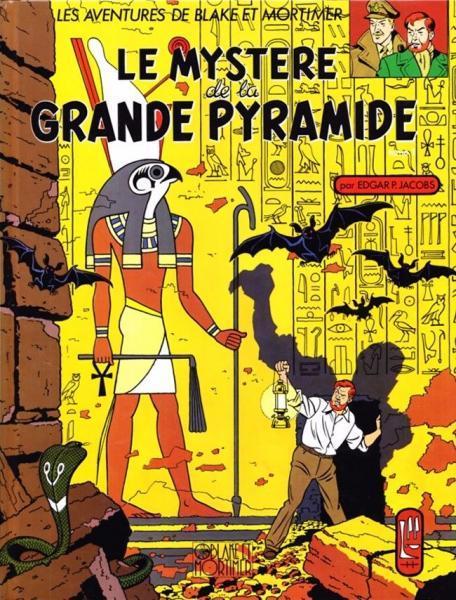Blake en Mortimer 4 Le mystère de la grande pyramide, tome 1