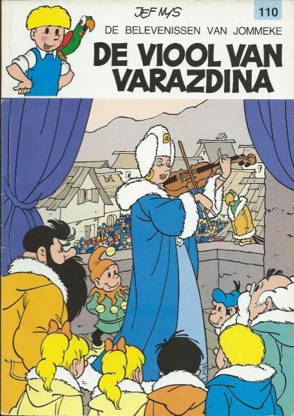 Jommeke 110 De viool van Varazdina