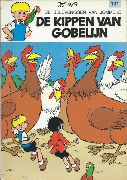 Jommeke 131 De kippen van Gobelijn