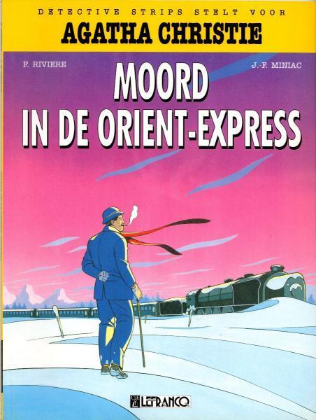Agatha Christie (Lefrancq) 1 Moord in de Orient Express
