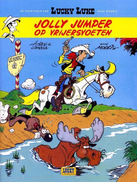 Lucky Luke (Lucky Comics) 1 Jolly Jumper op vrijersvoeten