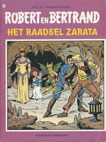 Robert en Bertrand 36 Het raadsel Zarata