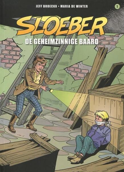 Sloeber (Saga) A1 De geheimzinnige baard