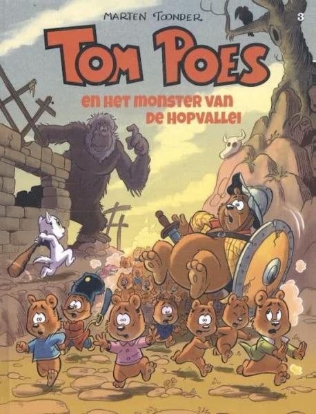 Tom Poes (Cliché) 3 Tom Poes en het monster van de Hopvallei