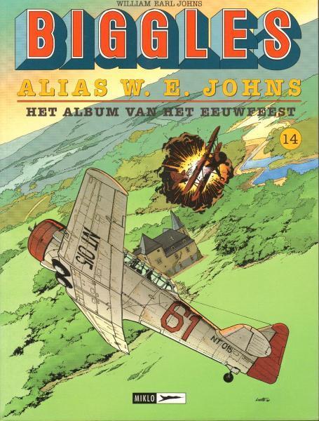 Biggles 14 Alias W.E.Johns - Het album van het eeuwfeest