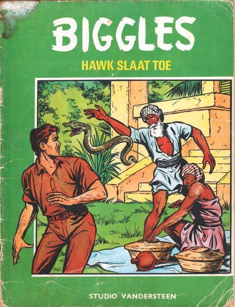 Biggles (Studio Vandersteen) 16 Hawk slaat toe