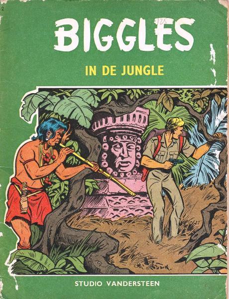 Biggles (Studio Vandersteen) 2 In de jungle