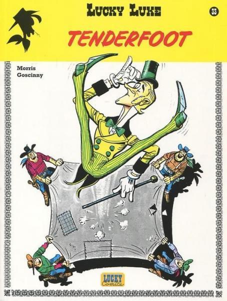 Lucky Luke (Lucky Comics, hernummering) 33 Tenderfoot