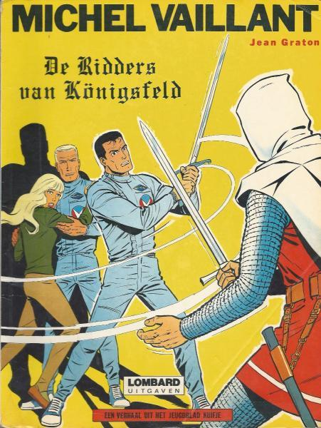 Michel Vaillant 12 De ridders van Königsfeld