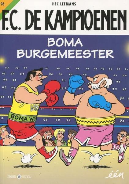 F.C. De Kampioenen 98 Boma burgemeester