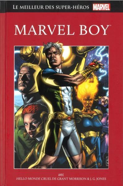 Marvel comics - Le meilleur des super-héros  (Hachette) 56 Marvel Boy