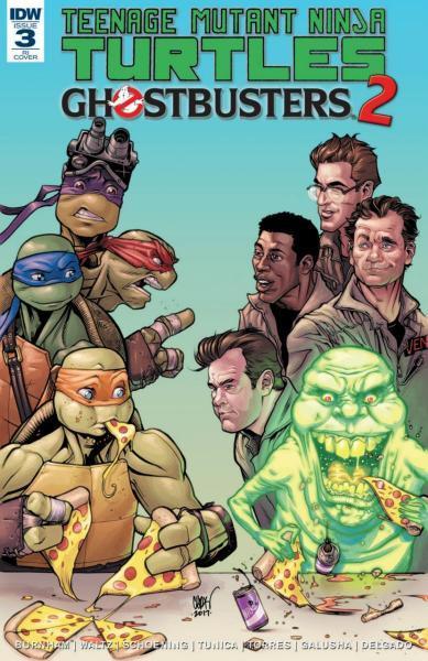 Teenage Mutant Ninja Turtles/Ghostbusters A3 Issue #3