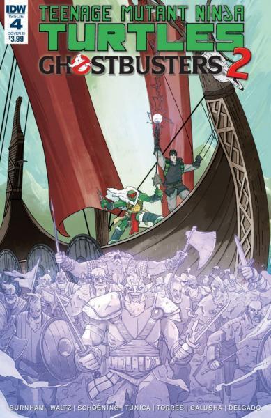 Teenage Mutant Ninja Turtles/Ghostbusters A4 Issue #4