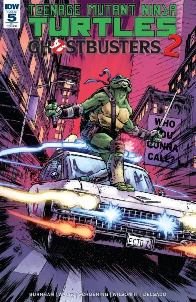Teenage Mutant Ninja Turtles/Ghostbusters A5 Issue #5