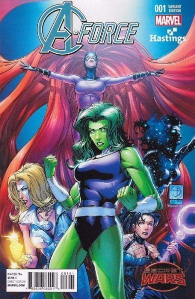 A-Force 1 Issue #1