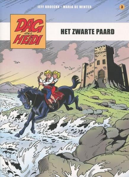 Dag en Heidi (Saga Stribbel) A3 Het zwarte paard