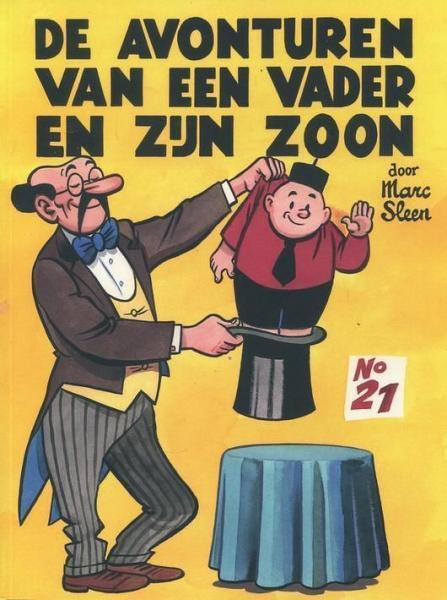 Piet Fluwijn en Bolleke (Adhemar) 21 Nummer 21