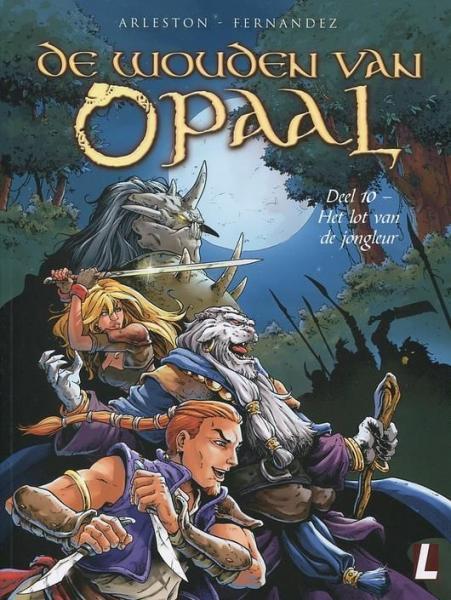 De wouden van Opaal 10 Het lot van de jongleur