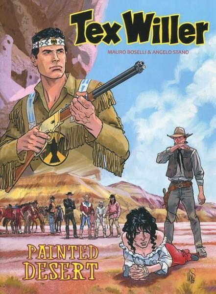 Tex Willer (Hum!) 4 Painted Desert