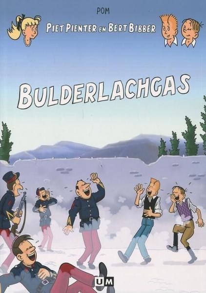 Piet Pienter en Bert Bibber 23 Bulderlachgas