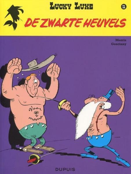 Lucky Luke (Lucky Comics, hernummering) 21 De zwarte heuvels