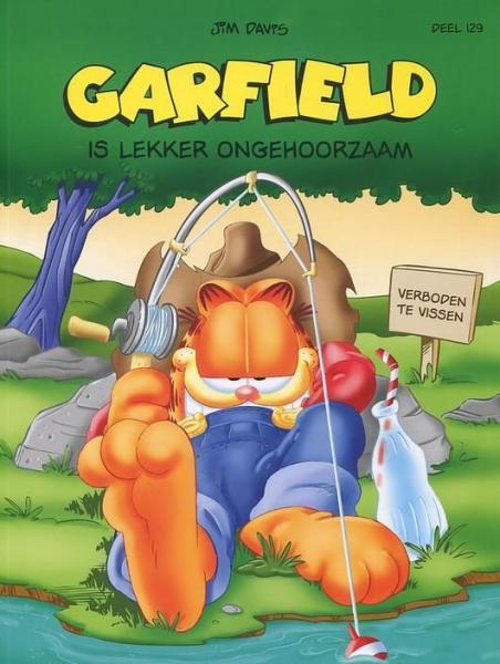 Garfield (Gekleurd/Loeb/De Leeuw) 129 Garfield is lekker ongehoorzaam
