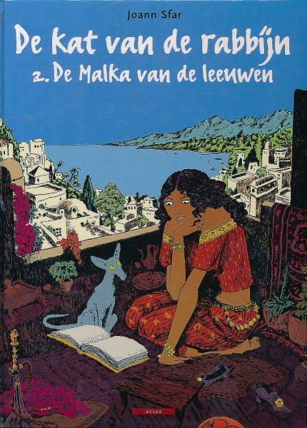 De kat van de rabbijn 2 De Malka van de leeuwen