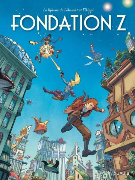 Robbedoes door... 13 Fondation Z