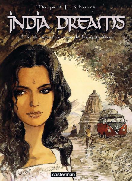 India Dreams 3 In de schaduw van de bougainvilles