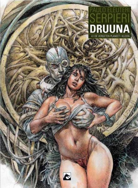 Druuna INT B4 De vergeten planeet/De kloon