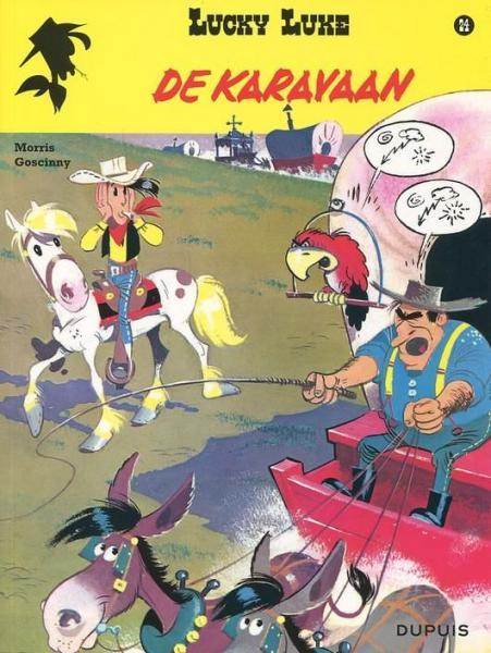 Lucky Luke (Lucky Comics, hernummering) 24 De karavaan