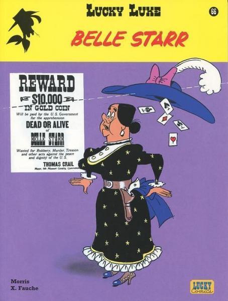 Lucky Luke (Lucky Comics, hernummering) 66 Belle Starr