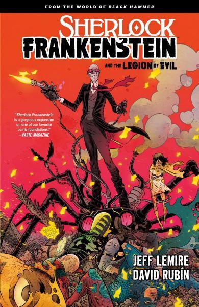 Sherlock Frankenstein and the Legion of Evil INT 1 Sherlock Frankenstein and the Legion of Evil