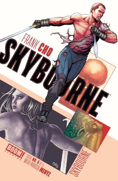 Skybourne 5 Issue #5