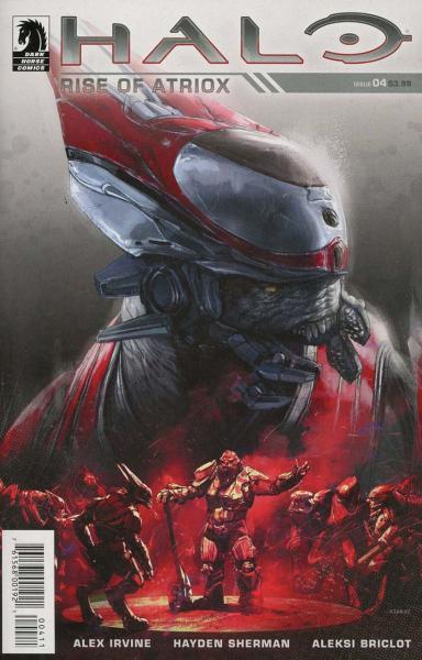 Halo: Rise of Atriox 4 Issue #4