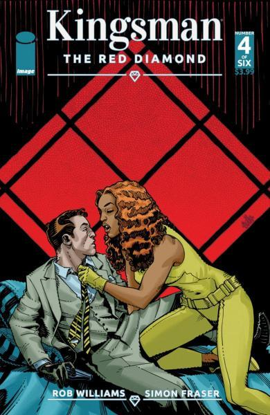 Kingsman: The Red Diamond 4 Issue #4