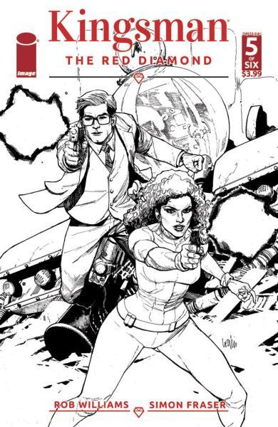 Kingsman: The Red Diamond 5 Issue #5