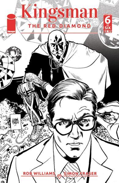 Kingsman: The Red Diamond 6 Issue #6