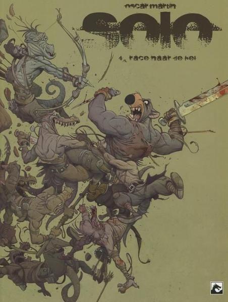 Solo (Dark Dragon) 4 Race naar de hel